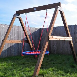 heavy duty birds nest swing