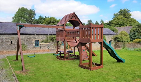 The Pioneer climbing frame from STTSwings Ireland