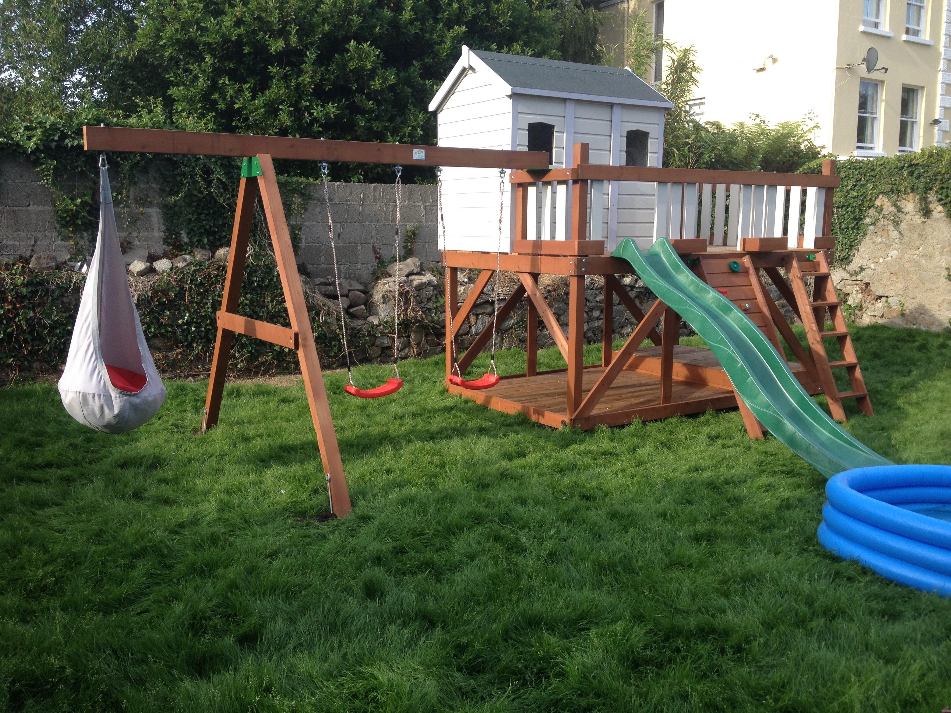Brilliant Stt Tree House Outdoor Playground Equipment Swings Play Download Free Architecture Designs Scobabritishbridgeorg