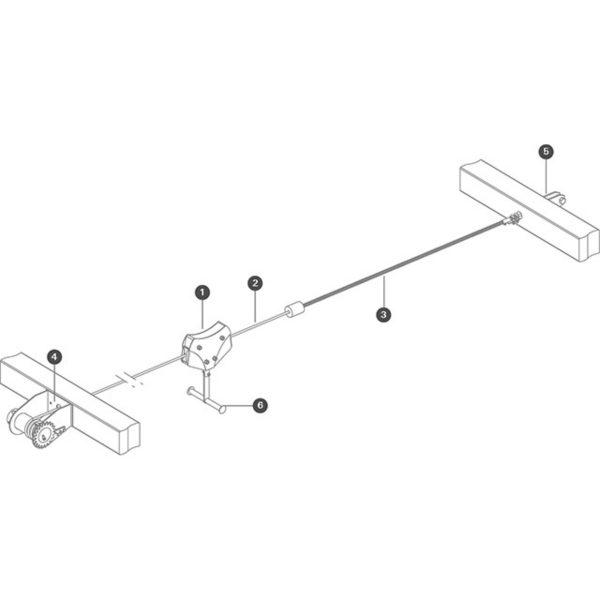 Cableway zipline hardwear sttswings