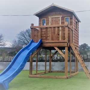 STT swings Tree house with slide
