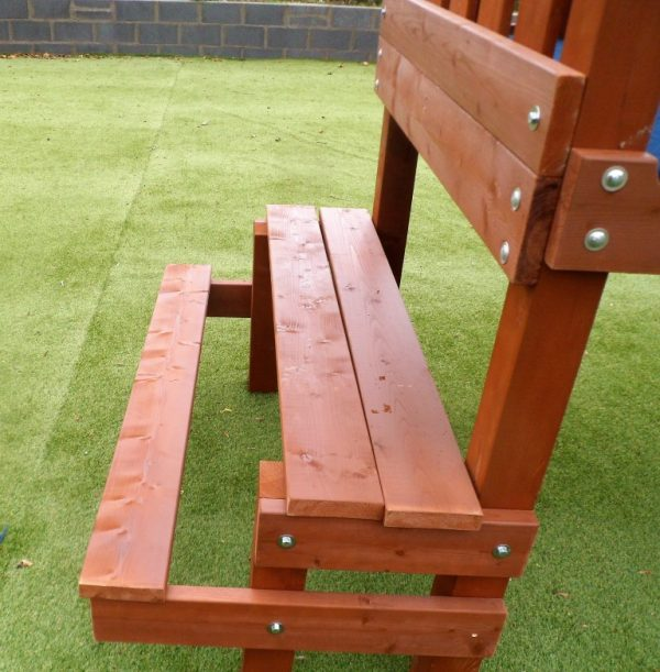 Outdoor creche play equipment