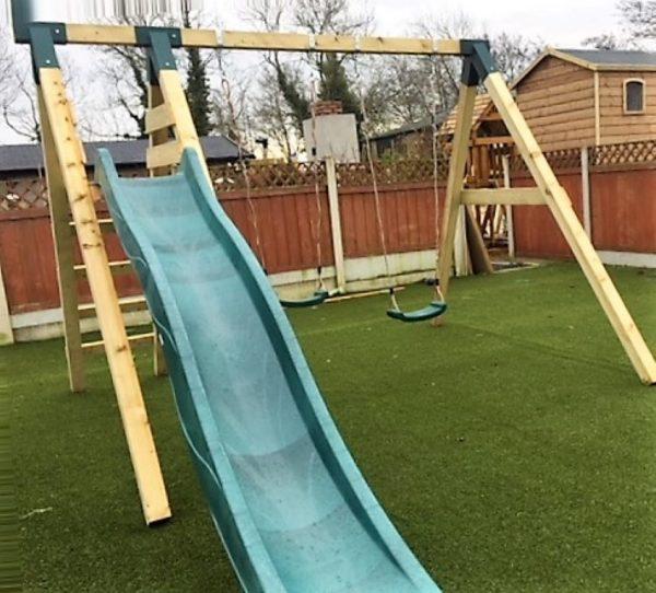 The Hazelwood STTSwings two item swing slide set