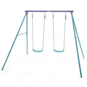 STT Metal double swing set