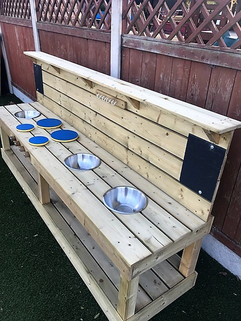 Extra Long Mud Kitchen STTSwings