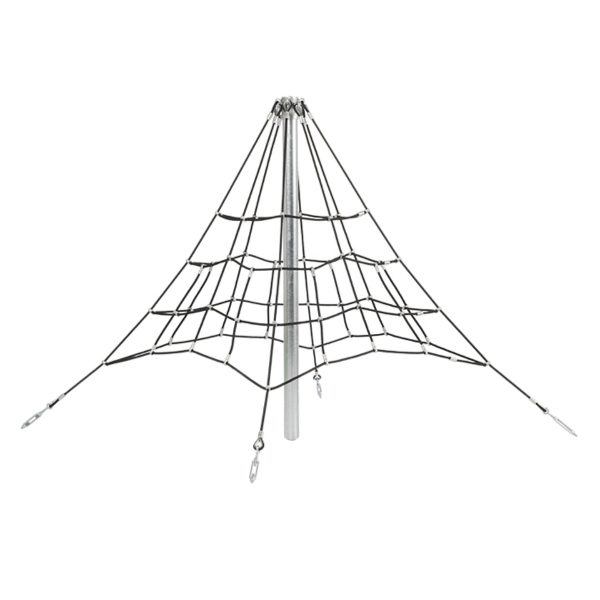 armed rope pyramid net - 2,0 m
