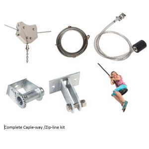 Complete Cable-way / Zip-line kit