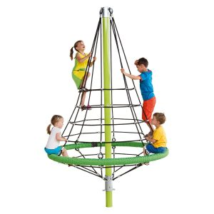 Climbing Pyramid Firry 360 rotation sttswings