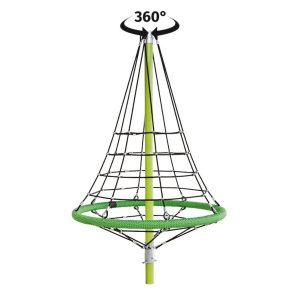 Climbing Pyramid 360 rotation Firry sttswings..