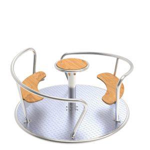 KBT Stainless steel Carousel Viento STTSwings