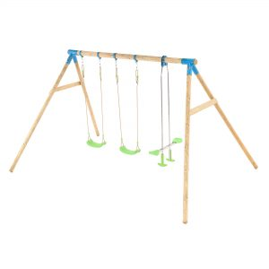 3 Item swing including see saw