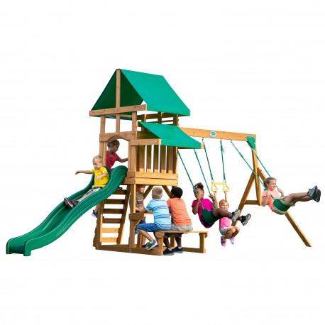 Belmont Playtower and Swings