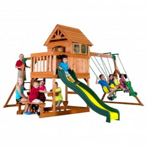 Springboro Playtower and Swings