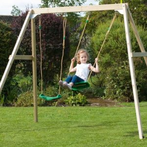 stt swings forest double swing set