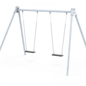 2 item commercial metal swing set sttswings Ireland