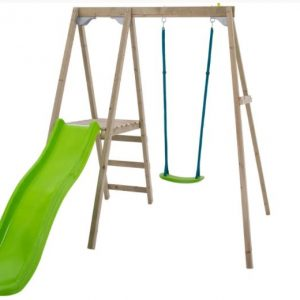 Forest single multiplay swing and slide